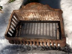 Excited to share this item from my shop: Antique Cast Iron Fireplace Basket Grate Coal Box Wood Log Holder Insert Or Antique, Antique Items, Vintage Fireplace, Log Holder, Cast Iron Fireplace, Wood Logs, Fireplace Inserts, Fireplace Accessories, Fireplace Surrounds