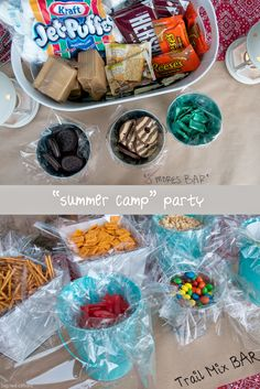"big red clifford: 7 Secrets of Summer Outdoor Entertaining | A ""Summer Camp"" Party"