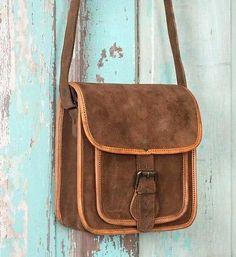 Dakota Suede Crossbody Bag
