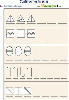Series numericas y graficas   actividades para primaria   Pinterest ...