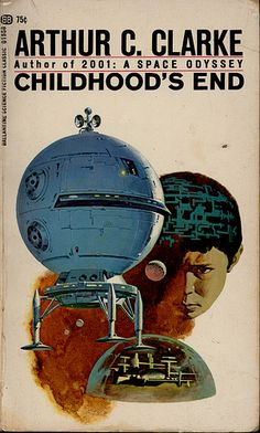 """""""Childhood's End"""" by Arthur C. Clarke. One of my favorite Sci fi artists"""