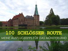 Ich habe mir 8 Schlösser und Burgen entlang der 100 Schlösser Route im Münsterland angeschaut und stelle dir meine Ausflugstipps vor.
