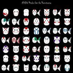 """The ANBU (暗部; meaning """"Dark Side""""), short for Ansatsu Senjutsu Tokushu Butai (暗殺戦術特殊部隊; meaning """"Special Assassination and Tactical Squad""""), take orders from the Kage. The ANBU usually work in teams formed to the needs of the mission. Shinobi in the ANBU are hand-picked by the Kage, chosen for their individual capabilities & special skills, Age, gender, & background. They wear masks to conceal their identity. An ANBU agent is to be known only by the Kage and village elders."""