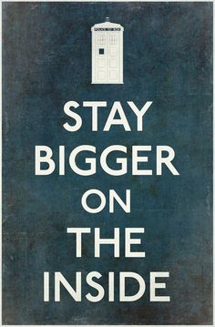 Stay bigger on the inside