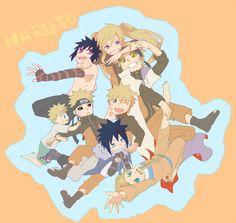 Menma and Naruto Naruto Uzumaki, Naruto And Sasuke, Anime Naruto, Naruto Cute, Naruto Funny, Sarada Uchiha, Naruto Girls, Sasunaru, Itachi