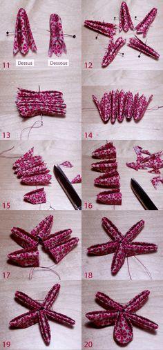 tutoriel couture, sewing tutorial, couture, sewing, tuto Kazanchi, tutoriel broche fleur, faire une broche fleur