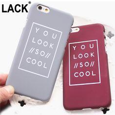 ファッション レター ケース iphone用6 ケース用iphone 6 s 6 プラス 5 5 s マット ハード電話ケース バック カバー fundas capa見える よう に とても クール