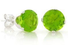Green Peridot Earrings GIVEAWAY!! 10 Winners!!