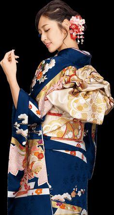 鈴木愛理 Airi Suzuki in kimono Japanese Geisha, Japanese Beauty, Japanese Girl, Asian Beauty, Furisode Kimono, Yukata, Traditional Kimono, Traditional Dresses, Traditional Japanese