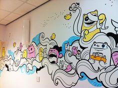 Sheffield Children's Hospital Ward Mural on Behance