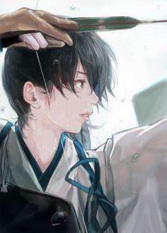 加賀さん。弓道写真の模写です。 pic.twitter.com/iXRAWqNRRE