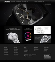 Rado website #webdesign