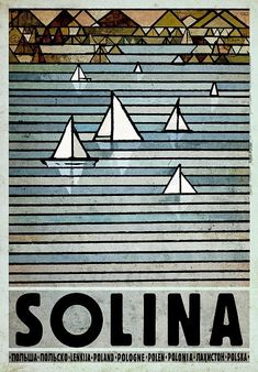 Solina, Poland Solina, Polska Kaja Ryszard Polish Poster