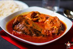 Catfish stew recipe – How to make tasty catfish stew If you enjoy cooking with catfish (check out catfish peppersoup ), then you will definitely enjoy this mouthwatering stew. African Stew, West African Food, Catfish Stew, Steak And Lobster, Nigerian Food, Food Blogs, Soul Food, Food Dishes, Food Inspiration