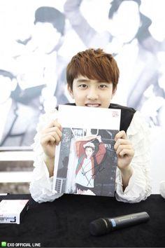 DO ♡ #EXO - Busan Fansign (130608)