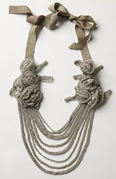 Crochet Jewelry | Fashion, Beauty, & Thrifting with a little DIY on the side
