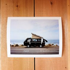 The cover shot from Home Is Where You Park It, Ventura , California April Shot on a Mamiya 6 with Portra 10 inches by 15 inches, printed. Foster Huntington, Portra 400, Filmmaking, Moonlight, Places To Visit, Polaroid Film, California, Park, Prints