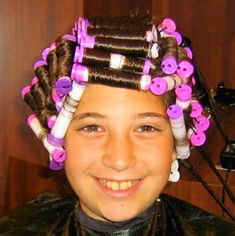 Trans Mtf, Womanless Beauty Pageant, Perm Rods, Hair Setting, Hair And Beauty Salon, Perms, Roller Set, Curlers, Kids And Parenting