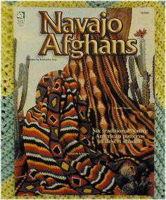 Navajo Afghans Native American Patterns