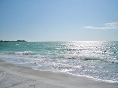 Lido Beach, Florida.  Photo by Juanita Baim Crawford