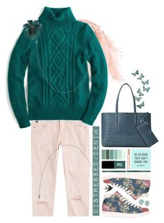 """Weekend Wear."" by s-elle ❤ liked on Polyvore featuring Chan Luu, adidas, AG Adriano Goldschmied, J.Crew, Melissa Joy Manning, Jin Soon, Lanvin, Tory Burch, Aspinal of London and contest"