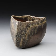 Artist: Tim Rowan, Title: Tea Bowl w/ Ash and Lines - click on image to enlarge