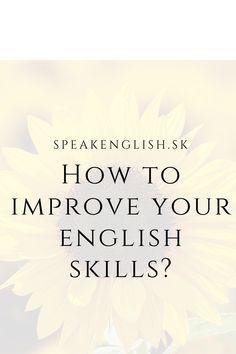 #speakenglish, #esl, #improveenglish English Grammar Online, English Online, Improve Your English, Esl, Improve Yourself