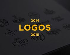 "Check out my @Behance project: ""Logo Collection #2"" https://www.behance.net/gallery/23890963/Logo-Collection-2"