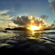 Morning swim. #Kauai, #Flowkane