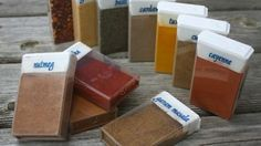 Upcycle Tic Tac Containers into spice containers for camping.