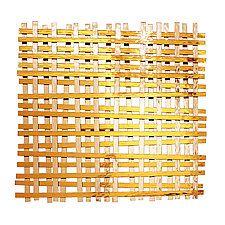 """Woven by Karo Martirosyan (Art Glass Wall Sculpture) (32"""" x 32"""")"""