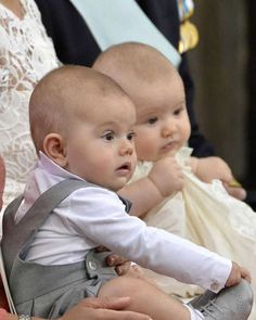 royals_europe_photos on Instagram: Swedish cousins Prince Oscar and Prince Alexander, September 9, 2016