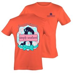 Simply Southern Tee Mermaid Shirt Short Sleeve Coral T-Shirt Cute Country Outfits, Southern Outfits, Preppy Southern, Southern Prep, Short Sleeve Tee, Long Sleeve Shirts, Simply Southern Shirts, Preppy Style, Cute Shirts