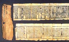 1032. Tangut Buddhist scrolls. The religion of the Tangut state was Buddhism. The entire Chinese Buddhist canon was translated into Tangut language over a span of 50 years and published, a remarkable feat. The Buddhism in Xixia is generally believed to be an amalgamation of Tibetan and Chinese traditions. Tangut Buddhism was similar to Buddhist beliefs in the Khitan kingdom of Liao: texts previously believed to be of native Tangut origin, turned out to be translations of Khitan source texts.