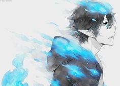 ao no exorcist. I need to start watching the second season of this