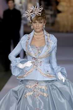 Christian Dior at Couture Fall 2007
