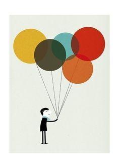 Simple Balloon Illustration