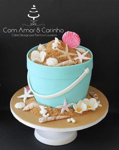 It´s Almost Summer - Cake by Com Amor & Carinho