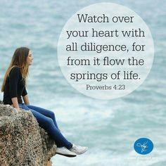 Proverbs  4  :  23