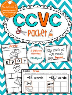 (Common Core Aligned) This CCVC Packet has 3 different activities that allow students to master blending CCVC words. These hands-on activities are perfect for students who have moved past the CVC words and are ready to read CCVC words. Phonics Reading, Teaching Reading, Teaching Tools, Teaching Ideas, Phonics Activities, Learning Activities, Primary Activities, Kids Learning, Blends And Digraphs