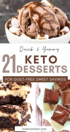 Easy Keto Dessert Recipes – keep your Ketogenic Diet guilt-free while indulging on your sweet cravings! These healthy Keto Desserts are quick to cook; some are no-bake and low carb that will never break your ketosis. Keto Fat Bombs, chocolate, cream cheese, cheesecakes and other pleasures all Keto-friendly! #keto #ketogenic #ketodiet #recipe #desserts #diet #food #dessertfoodrecipes #ketorecipes #lowcarb Quick Easy Desserts, Keto Dessert Easy, Desserts For A Crowd, Keto Desserts, Healthy Dessert Recipes, Delicious Desserts, Keto Recipes, Healthy Food, Snack Recipes
