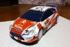 Citroën C4 WRC Rally Wales GB 2008 Paper Car Free Vehicle Paper Model Download - http://www.papercraftsquare.com/citroen-c4-wrc-rally-wales-gb-2008-paper-car-free-vehicle-paper-model-download.html#124, #Car, #Citroen, #CitroënC4, #PaperCar, #VehiclePaperModel, #WRC