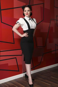 Jumper Black Pencil | Bettie Page Clothing  Always wanted a pencil skirt like this