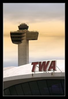 TWA Terminal - JFK International Airport by Eero Saarinen, 1962