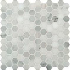 """statuario hexagon 2"""" tiles - Google Search"""