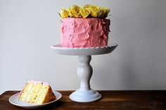 1-2-3-4 Cake with Raspberry Buttercream, a recipe on Food52