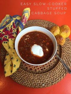 heartwarming healthy stuffed cabbage soup