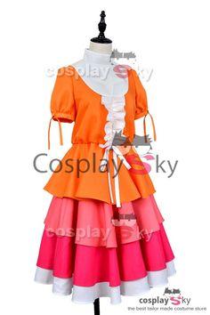Monogatari Series Nisemonogatari Yotsugi Ononoki Cosplay Costume #cosplaysky