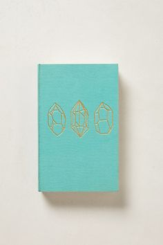 Anthropologie cloth-bound journal - I have this exact one and it's like a blank book. Almost too pretty to write in!
