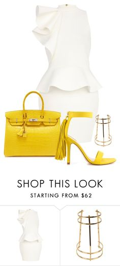 """Untitled #218"" by ahmonie on Polyvore featuring River Island, Hermès, Chloé and ALDO"